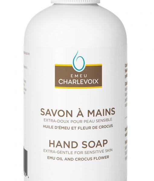 savon à main à l'huile d'émeu
